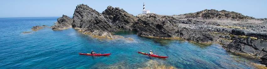 There are many ways to enjoy Menorca's seaside and beaches